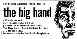 The Big Hand advertised in Saga magazine