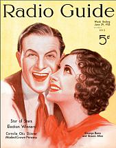On the cover of 'Radio Guide'